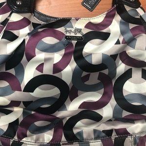 Multi Colored Coach Bag